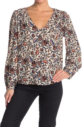 Velvet by Graham & Spencer Carly Printed Top