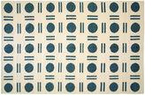 Nalbandian 9'11x6'5 Thoth Flat-Weave Rug, Blue