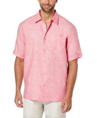 Cubavera Classic Two-Tone Linen Shirt