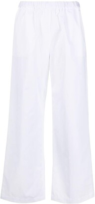 Aspesi Elasticated Cotton Trousers