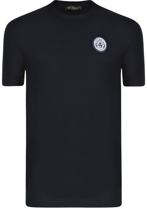 Versace Mesh Medusa T Shirt