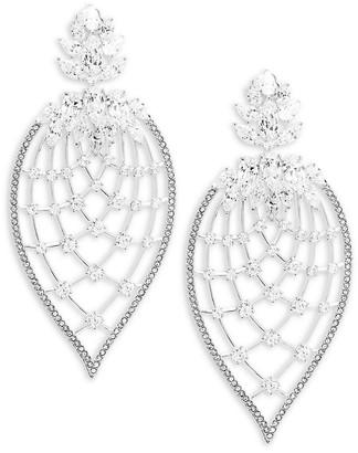 Adriana Orsini Crystal Petal Drop Earrings