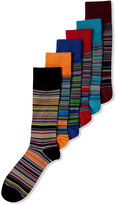 Alfani Men's Variegated Stripe Socks, Only at Macy's