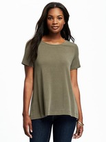 Old Navy Sand-Washed Jersey Swing Top for Women