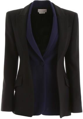 Alexander McQueen Bicolor Double Jacket