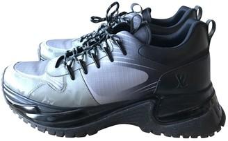 Louis Vuitton Run Away Grey Cloth Trainers