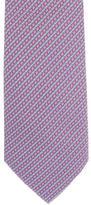Hermes Silk H Print Tie