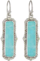 Armenta New World Pointed Rectangle Doublet Drop Earrings