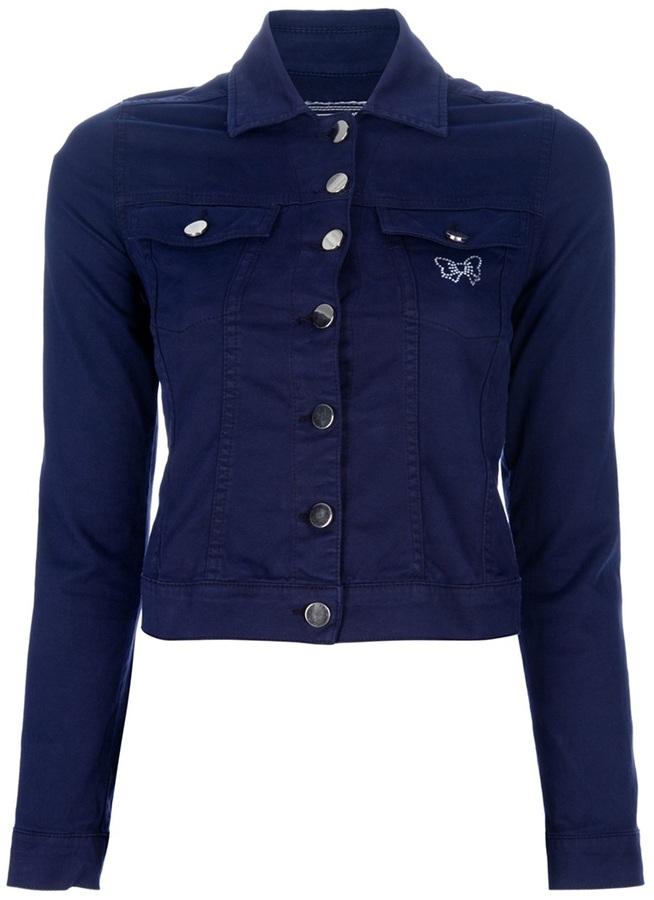 Fixdesign Fix Design cropped denim jacket