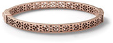 Fossil Signature Bangle - Rose