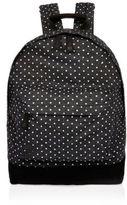 River Island Black Spotted Denim Mi-pac Backpack