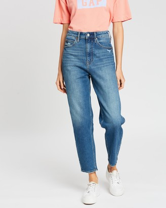 Gap High-Rise Tapered Jeans