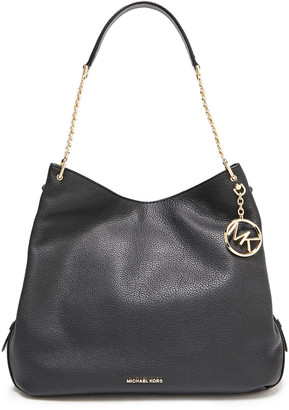 MICHAEL Michael Kors Lillie Large Textured-leather Shoulder Bag