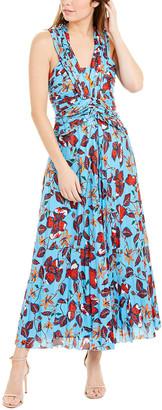 Derek Lam 10 Crosby Silk-Blend Maxi Dress