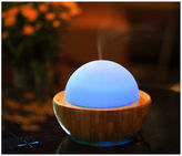 Asstd National Brand SPT SA-013: Ultrasonic Aroma Diffuser/Humidifier with Bamboo Base [Sphere]