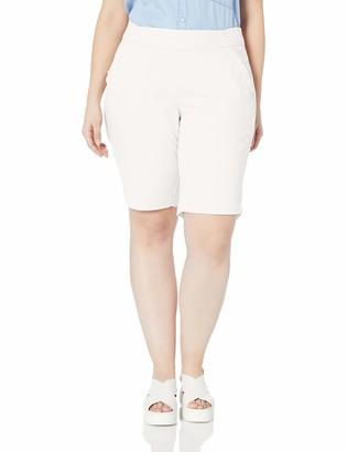 Jag Jeans Women's Plus Size Gracie Pull on Bermuda Short