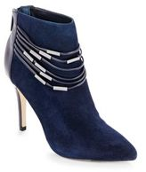 Saks Fifth Avenue Point-Toe Ankle Boots