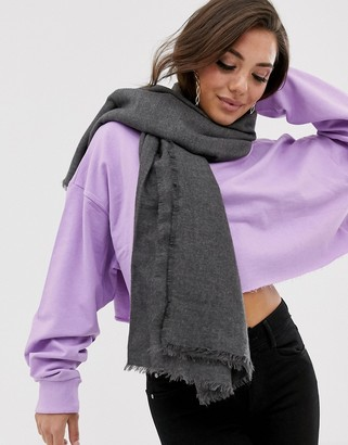 Asos DESIGN lightweight recycled polyester scarf
