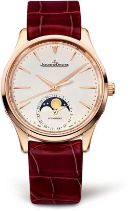 Jaeger-LeCoultre Jaeger Lecoultre Rose Gold Master Ultra Thin Moon Watch 34mm