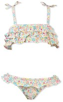 Petit Bateau Girls two-piece floral print swimsuit