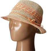 Roxy Big Swell Straw Fedora Hat
