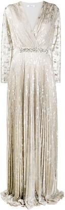 Blumarine Metallic Evening Dress