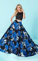Tiffany Designs - 16223 Charming Two Piece Sleeveless Dress