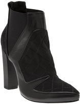 Ohne Titel quilted panel bootie