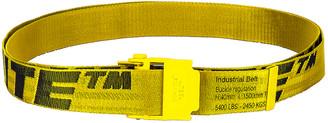 Off-White 2.0 Industrial Belt in Yellow & Black   FWRD