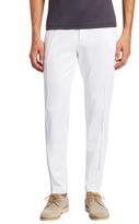 Armani Collezioni Solid Cotton Trousers