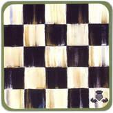 Mackenzie Childs MacKenzie-Childs Courtly Check Coasters, Set of 4