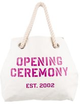 Opening Ceremony Reversible Canvas Tote