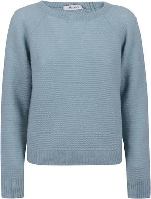 Max Mara Light Blue Cashmere Sweater