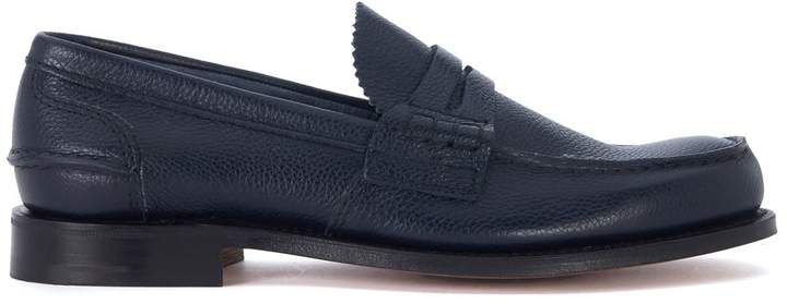 Church's Pembrey Blue Leather Loafer