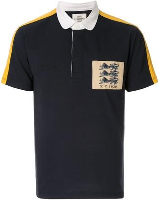 Kent & Curwen 3 lions badge polo shirt