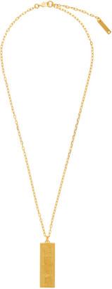 Ambush Gold Ofuda Necklace