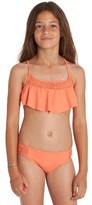 Billabong Girl's Just Beachy Two-Piece Swimsuit