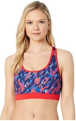 TYR Polar Lyn Racerback (Navy/Red) Women's Swimwear