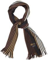 Rio Terra Knit Pinstripe Men's Warm Winter Scarf - Long