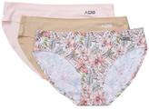 AQS Sunglasses Assorted Seamless Bikini Cut Panty - Pack of 3