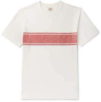 Faherty Striped Slub Cotton-Jersey T-Shirt