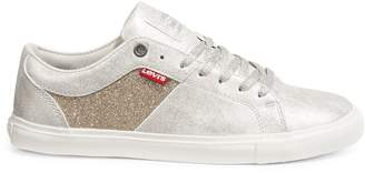 Levi's Metallic Lace-Up Sneakers