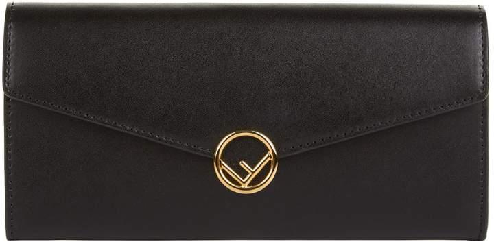 Fendi Continental Logo Wallet