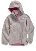 The North Face Girl's 'Resolve' Waterproof Rain Jacket