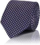 Lanvin Men's Geometric-Pattern Silk Jacquard Necktie