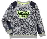 Petit Lem Techno Dude Long Sleeve Sweatshirt (Toddler & Little Boys)