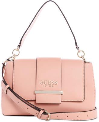 GUESS Tara Top Handle Flap Bag