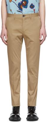 Paul Smith Tan Slim Chino Trousers