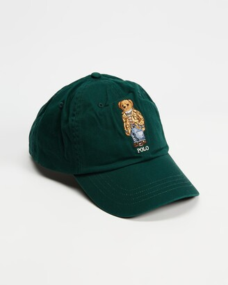 Polo Ralph Lauren Green Caps - Classic Sport Cap - Size One Size at The Iconic