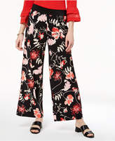 Alfani Petite Pull-On Palazzo Pants, Created for Macy's